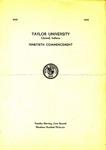 Taylor University Ninetieth Commencement