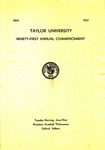 Taylor University Ninety-First Commencement