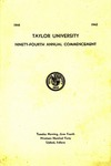 Taylor University Ninety-Fourth Annual Commencement
