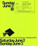 Taylor University Alumni-Graduation Weekend 1973