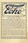 Taylor University Echo: November 1, 1913 by Taylor University
