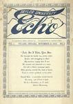 Taylor University Echo: November 15, 1913 by Taylor University