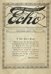 Taylor University Echo: January 1, 1914 by Taylor University
