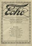 Taylor University Echo: January 15, 1914 by Taylor University