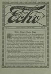 Taylor University Echo: April 15, 1914 by Taylor University