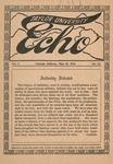 Taylor University Echo: May 15, 1914 by Taylor University