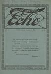Taylor University Echo: October 15, 1914