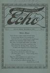 Taylor University Echo: November 16, 1914