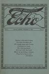 Taylor University Echo: December 1, 1914