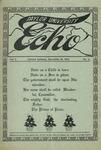 Taylor University Echo: December 15, 1914