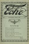 Taylor University Echo: January 1, 1915