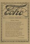 Taylor University Echo: February 1, 1915