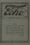 Taylor University Echo: June 1, 1915