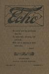 Taylor University Echo: February 1917