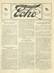 Taylor University Echo: November 8, 1917