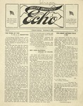 Taylor University Echo: December 6, 1917