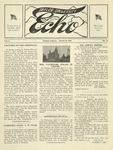 Taylor University Echo: March 28, 1918 by Taylor University