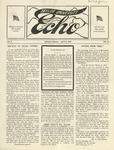 Taylor University Echo: April 11, 1918