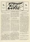 Taylor University Echo: April 25, 1918