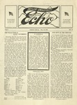 Taylor University Echo: May 23, 1918