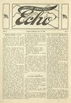 Taylor University Echo: October 12, 1918 by Taylor University
