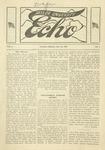 Taylor University Echo: October 26, 1918 by Taylor University