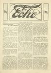 Taylor University Echo: November 9, 1918 by Taylor University