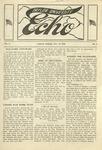 Taylor University Echo: November 23, 1918 by Taylor University