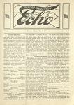 Taylor University Echo: December 28, 1918 by Taylor University