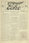 Taylor University Echo: January 11, 1919 by Taylor University