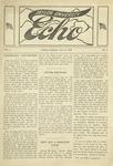 Taylor University Echo: January 23, 1919 by Taylor University