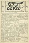 Taylor University Echo: February 25, 1919 by Taylor University