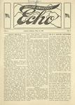 Taylor University Echo: March 11, 1919 by Taylor University