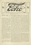 Taylor University Echo: April 22, 1919 by Taylor University