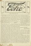 Taylor University Echo: May 13, 1919 by Taylor University