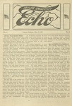 Taylor University Echo: May 27, 1919 by Taylor University