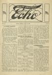 Taylor University Echo: June 10, 1919 by Taylor University