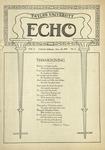 Taylor University Echo: November 25, 1919 by Taylor University