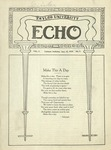 Taylor University Echo: January 13, 1920