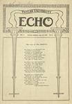 Taylor University Echo: January 27, 1920 by Taylor University