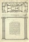 Taylor University Echo: February 10, 1920 by Taylor University