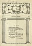 Taylor University Echo: February 24, 1920 by Taylor University