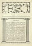 Taylor University Echo: March 9, 1920 by Taylor University