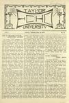 Taylor University Echo: March 23, 1920 by Taylor University