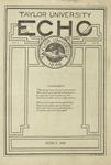 Taylor University Echo: June 8, 1920 by Taylor University