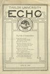 Taylor University Echo: June 22, 1920 by Taylor University