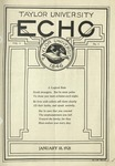 Taylor University Echo: January 18, 1921