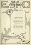 Taylor University Echo: November 22, 1921