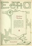 Taylor University Echo: December 27, 1921