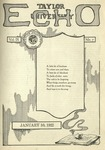 Taylor University Echo: January 10, 1922
